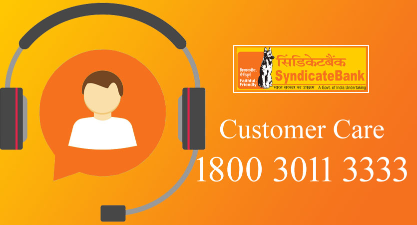 Syndicate Bank Customer Care